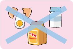 禁食情報の管理でアレルギーなどに対応